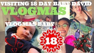 🎄Vlogmas Day 18 | OMG! Nanganak na si  MARY! Visiting Pinay Dutch Friends and BABY DAVID QUENTIN ♥️