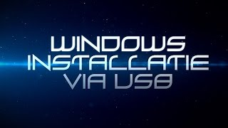 [Tutorial] - Maak een bootable Windows-installatie USB-stick