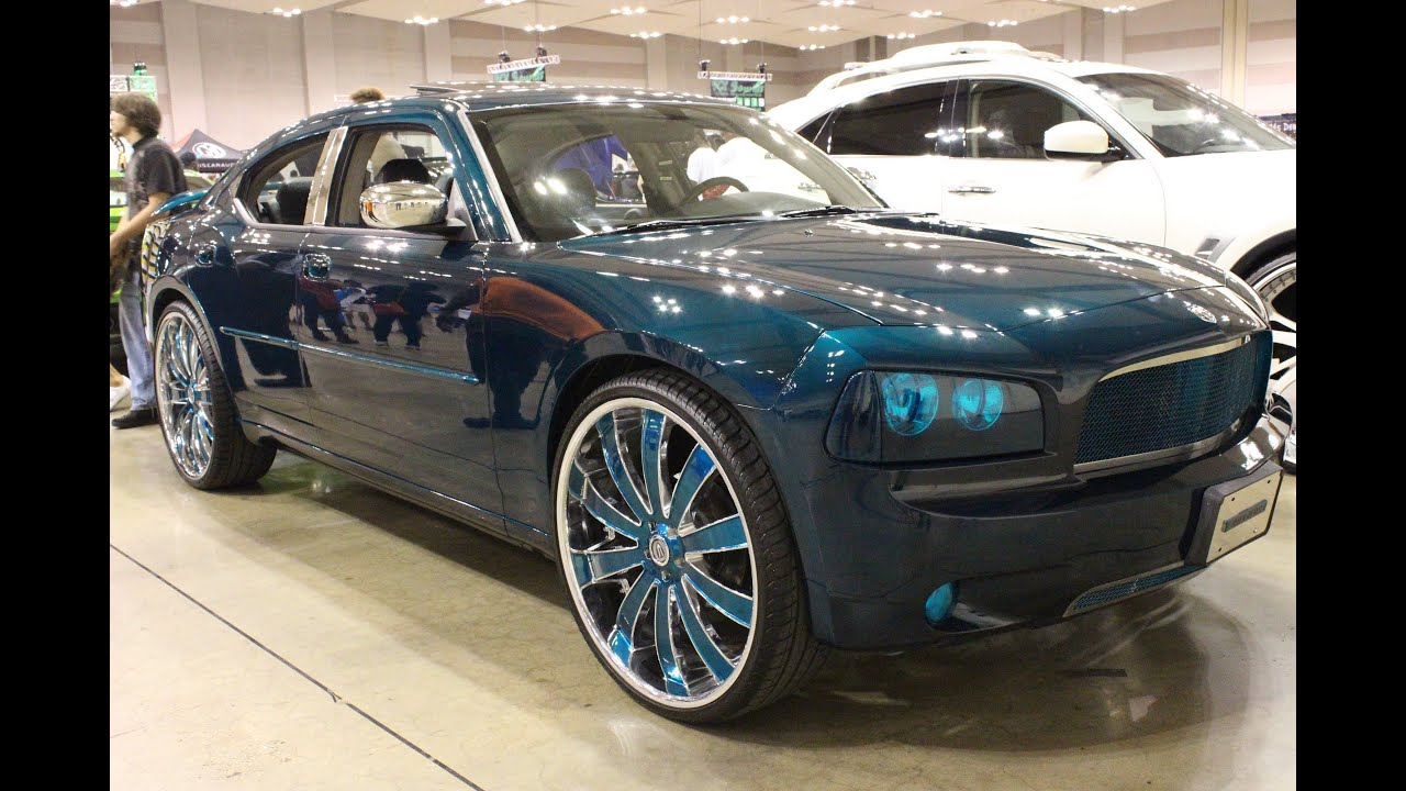 Kandy Charger On Color Matched 26 S Memphis Dub Car Show