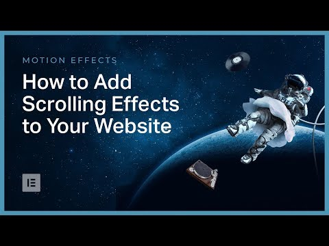 How to Add Scrolling Effects to Your Website