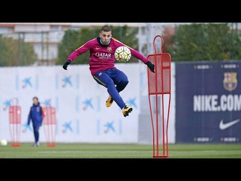 Last Training Session Before Hosting Sevilla