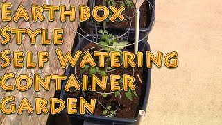 Earthbox Style Self Watering Container Garden