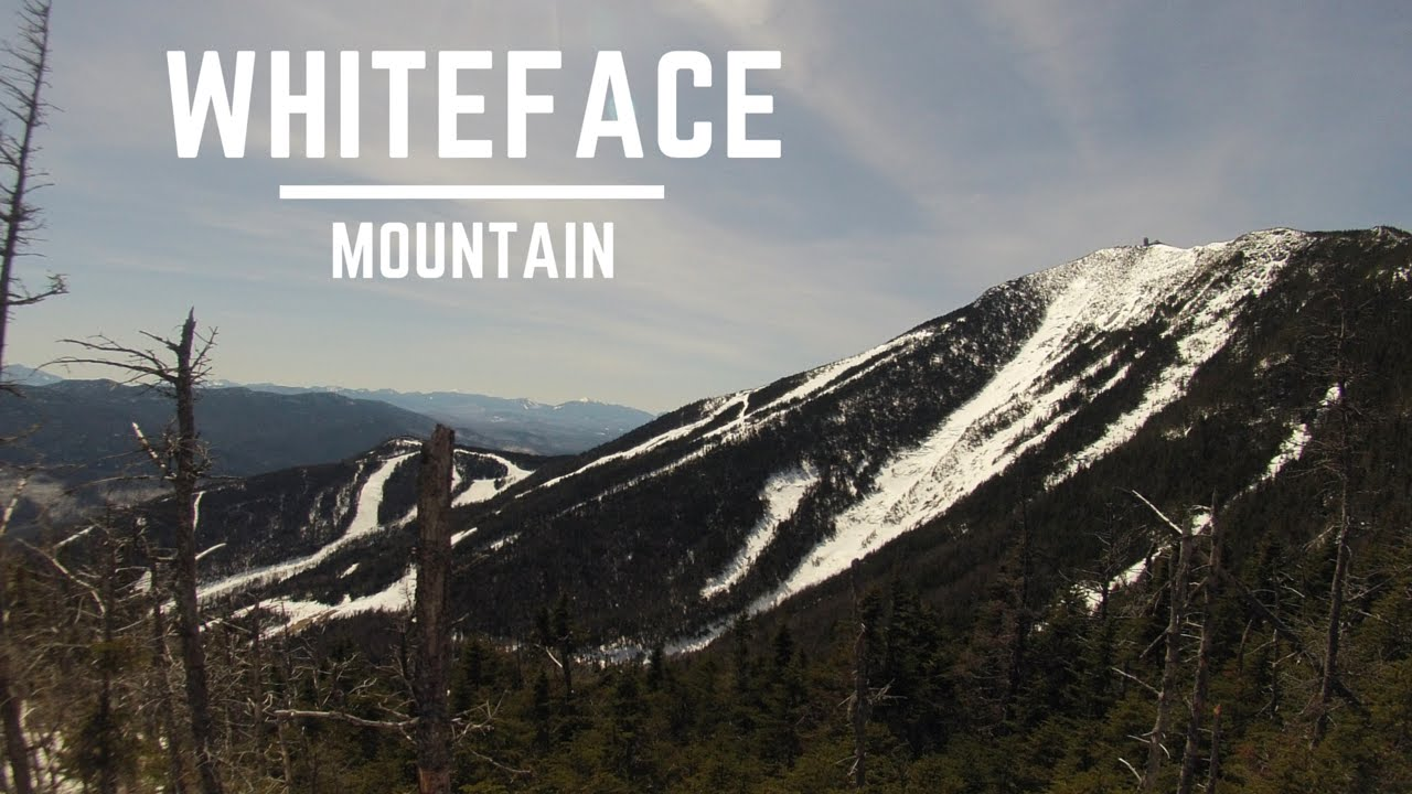 skiing highlights from whiteface mountain - youtube