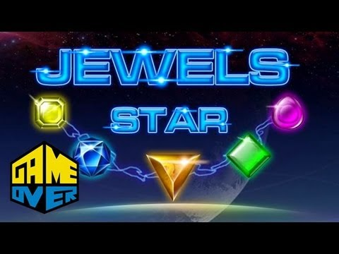 Jewels Star - Mobile - Game Over