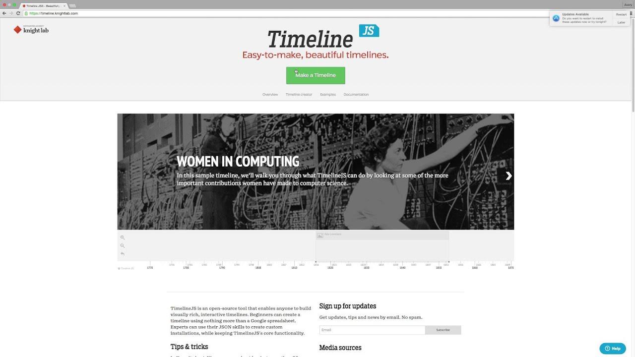 Timeline JS Tutorial | Open Media Lab