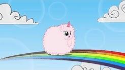 Pink Fluffy Unicorns Dancing on Rainbows (24 Hour Insanity Version!)