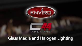 C44 Glass Media And Halogen Burn Example