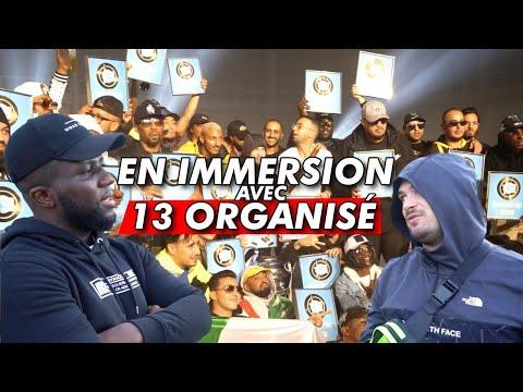 Youtube: En immersion 13'Organisé avec Jul, Alonzo, Soso Maness, Kofs, L'Algerino, Moubarak …