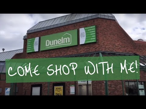 DUNELM COME SHOP WITH ME VLOG | MAY 2019 SUMMER SHOPPING | TABBY PERRY