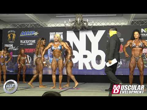 Women's Bodybuilding Comparisons | 2020 New York Pro