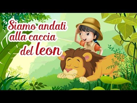 Siamo Andati alla Caccia del leon - Singing ja ja - Canzoni per bambini