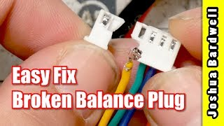 How To Repair A LiPo Balance Plug