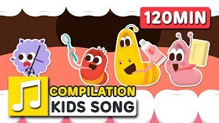 LARVA KIDS SONG COMPILATION   120MIN   LARVA KIDS   SUPER BEST SONGS FOR KIDS