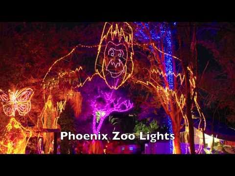 Zoo Lights at the Phoenix Zoo