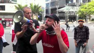 Solidarity with Egypt from New Zealand 29 Jan 2011 Part 1-2