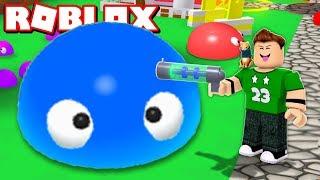 ¡ CAPTURAMOS SLIME en ROBLOX !   Rovi23 Roblox Blob
