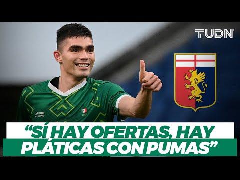 ¡SE NOS VA! Johan Vázquez habla sobre su futuro en EuropaI I ¿Jugará en la Serie A? I TUDN