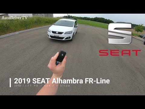 2019 SEAT Alhambra FR-Line (POV Drive) // AutoDriverTV