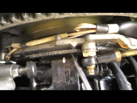 Outboard Ignition Timing - setting up a Tohatsu 115HP