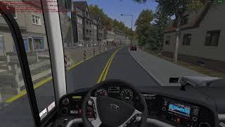 OMSI2 가상회사 푸른교통 2100  노선 만라이온코…