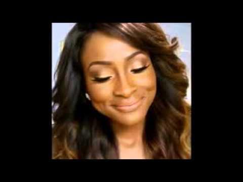 Wedding Makeup Looks For Black Women - YouTube