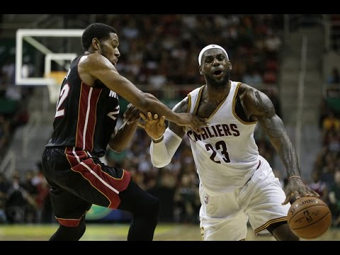 Cleveland Cavaliers vs Miami Heat Full Highlights - NBA Pre-Season 2014