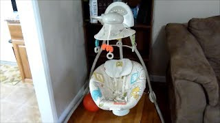 Review Of Fisher Price Animal Krackers Infant Cradle Swing