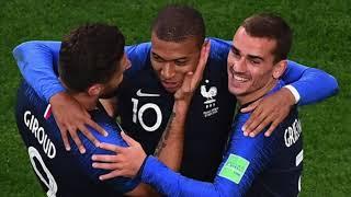 Musique coupe du monde 2018-Mbappe Fait Les Danser - Je suis Française - Djena Della -remix Black M