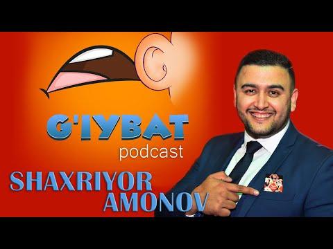 G`iybat Podcast #2 - Shaxriyor Amonov (Hozircha Shu)