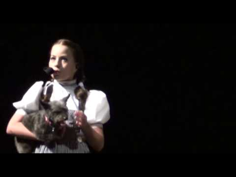 Somewhere Over The Rainbow- Cover- Wizard Of Oz Theater Production