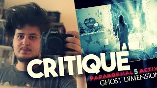 PARANORMAL ACTIVITY 5 - CRITIQUE