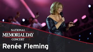 Renée Fleming performing on the 2017 National Memorial