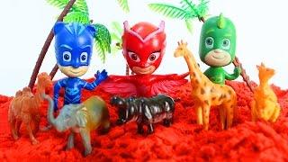 ГЕРОИ В МАСКАХ Новые серии на русском Развивающие мультики про животных Игрушки Герои в масках
