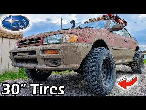 Lifted Subaru Impreza Gets 30