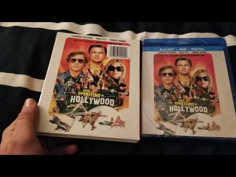 Once Upon A Time In Hollywood Blu Ray Unboxing