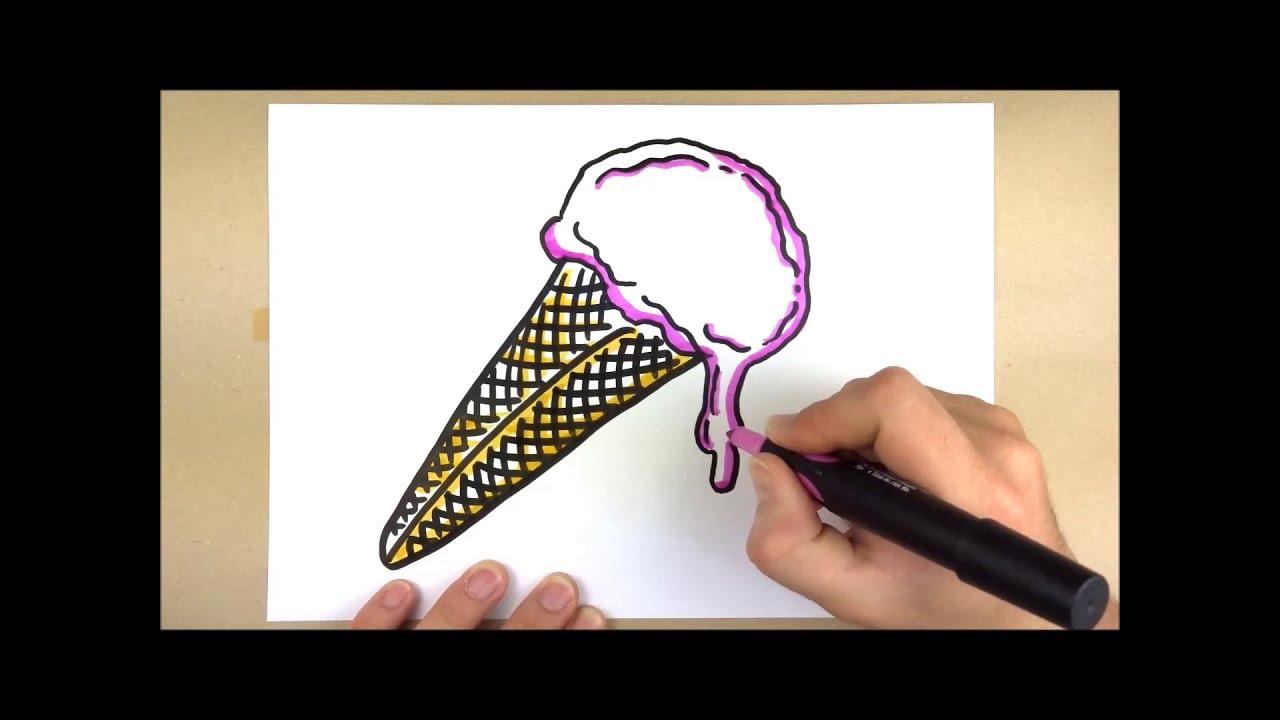 Eiskrem   Ganz Einfach Visualisieren   Eis, Waffel, Schmelzen   Ikonografik  By Chartflipper.de   YouTube
