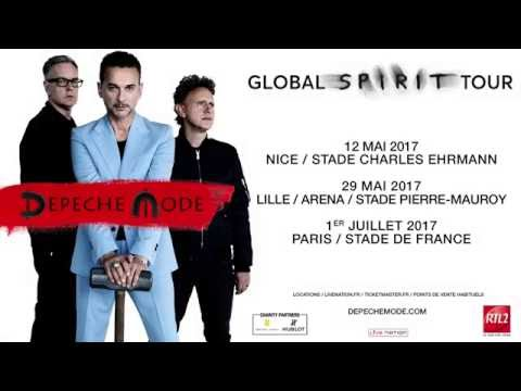 Depeche mode global spirit tour youtube - Depeche mode in your room live 2017 ...