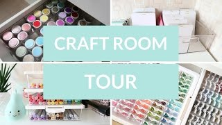 Craft Room Tour (2017)