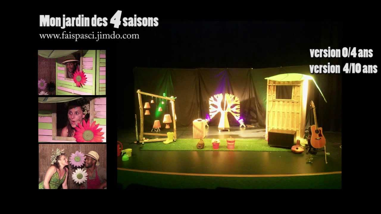 spectacle mon jardin des 4 saisons youtube. Black Bedroom Furniture Sets. Home Design Ideas
