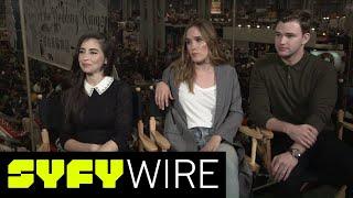 The Beyond Cast Describing Season 2 is Hilarious | New York Comic-Con 2017 | SYFY WIRE