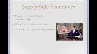 a comaprison of the policies of keynesian economics and supply side economics