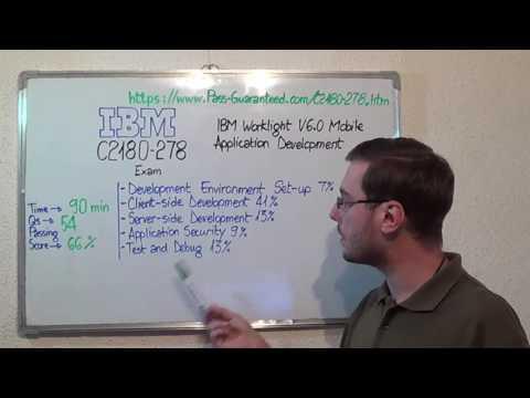C2180-278 – IBM Exam Worklight V6.0 Test Mobile Questions