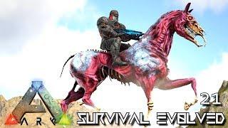 ARK: SURVIVAL EVOLVED - ZOMBIE HELL HORSE TAME & BABY BREEDING !!! E21 (MODDED ARK PUGNACIA DINOS)