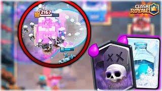 ¡¡ EL NUEVO CICLADO DE CEMENTERIO CON HIELO !! - Clash Royale [WithZack]