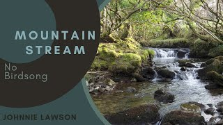 Forest Waterfall Nature Sounds W O Birds Singing Relaxation Meditation Mindfulness