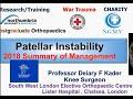 Patello-Femoral instability for Orthopaedic Fellowship Examination