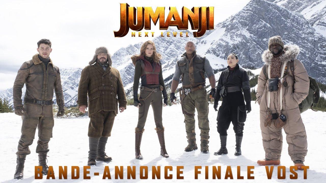 Jumanji : Next Level - Bande-annonce Finale - VOST