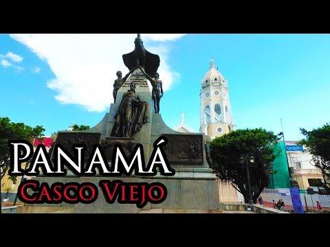 (1) Panamá City Dec 2017 - Walking Casco Viejo (Old Quarter) 4K