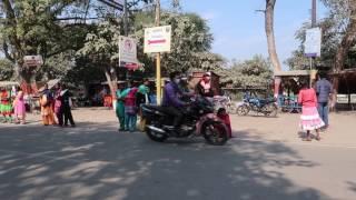 2017年1月21日 ビハール州 ブッダガヤ 人間の鎖運動