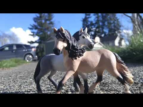 Realistic Schleich horse pictures !  best , roleplay, dolls , jouet ! review búp bê mainan